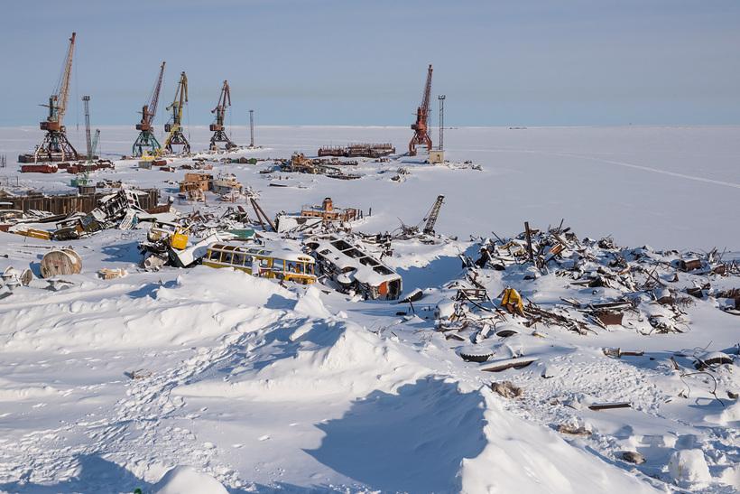 В Якутии планируют создать проектный офис для ликвидации затонувших судов и металлолома