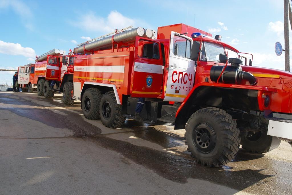 Специализированная пожарно-спасательная часть Якутска отметила 30-летие