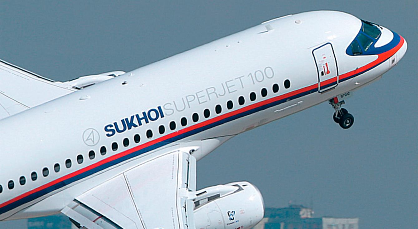 Началась разработка новой версии самолета Sukhoi Superjet