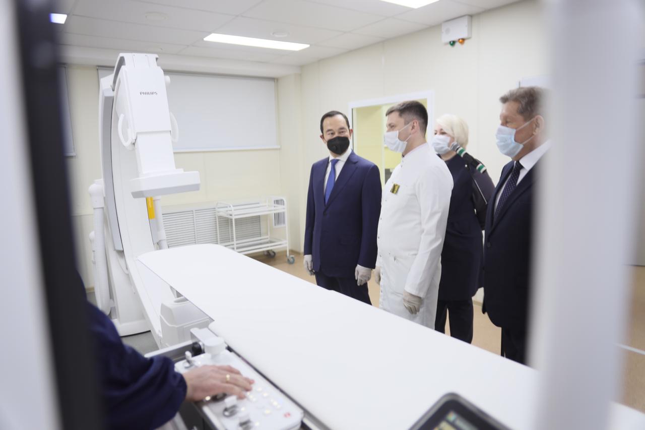 В Нерюнгринской центральной районной больнице появились МРТ и ангиограф