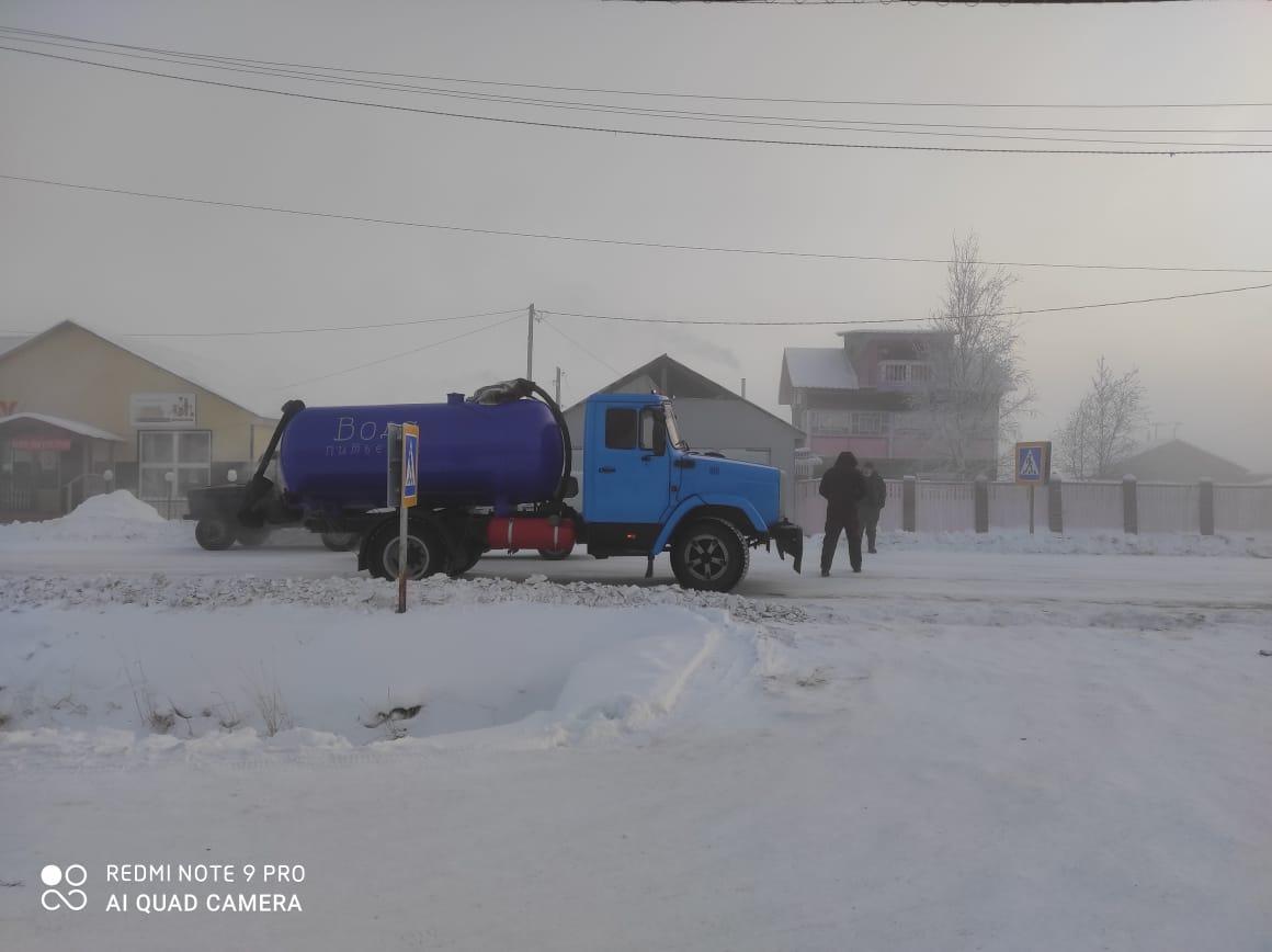 Водитель водовозки наехал на девятилетнего мальчика в Верхневилюйском районе Якутии