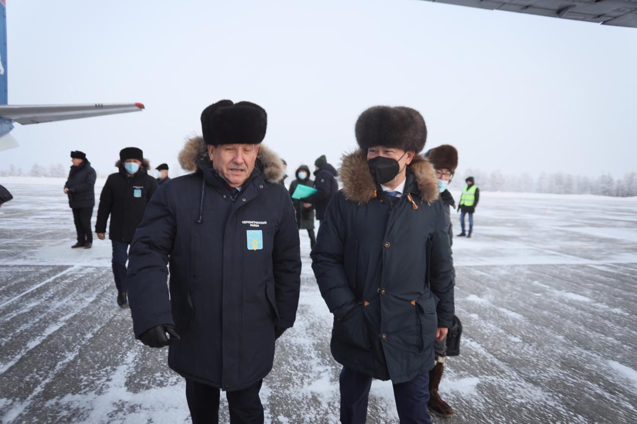 Глава Якутии посетит медицинские учреждения Нерюнгринского района