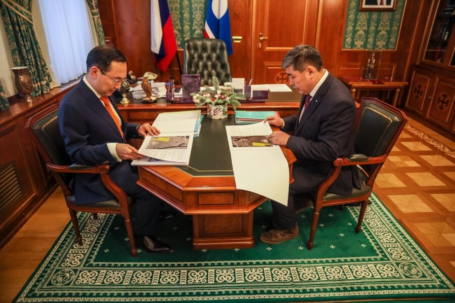 Новую программу развития и строительство кампуса обсудили глава Якутии и ректор СВФУ
