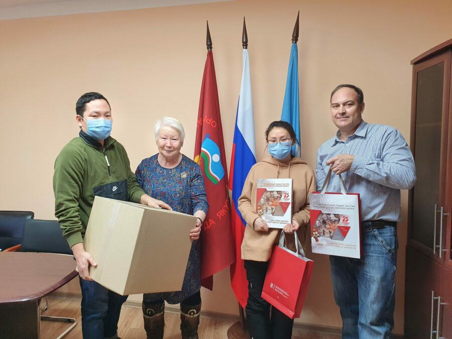Якутская компания передала 4000 масок для инвалидов, престарелых и ветеранов