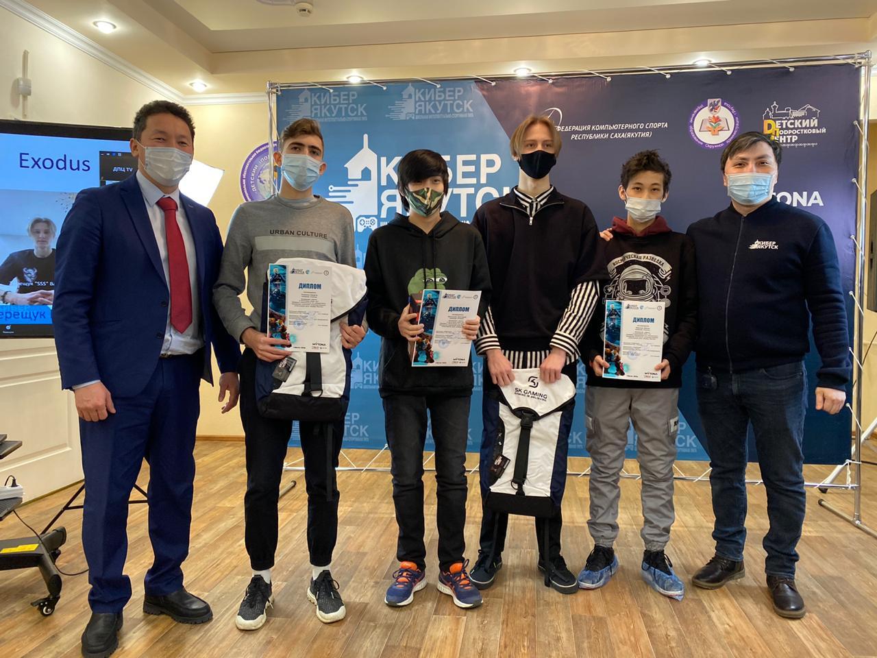 Победителей городской школьной интеллектуально- спортивной лиги «Кибер Якутск» поздравили в столице республики