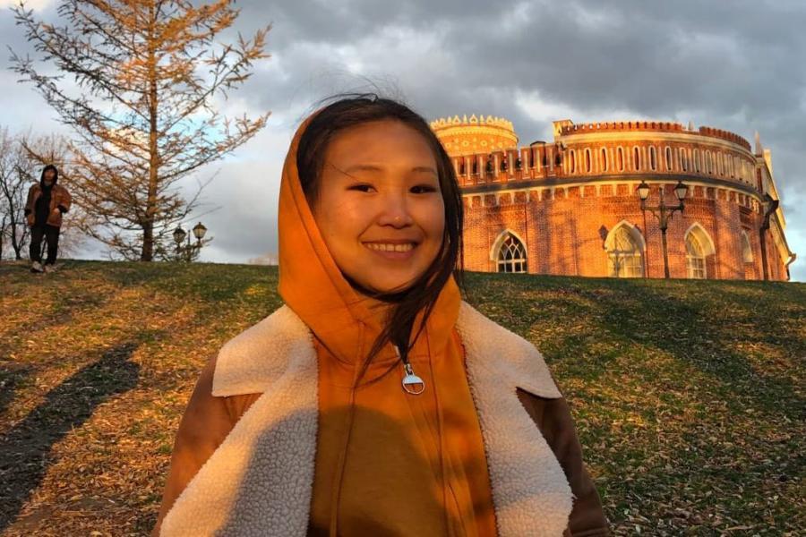 Студентка СВФУ стала бронзовым призером фотоконкурса «Моя зимняя Якутия»