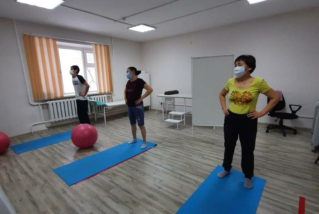 В Якутской горбольнице №2 начали курс реабилитации пациентов, перенёсших COVID-19