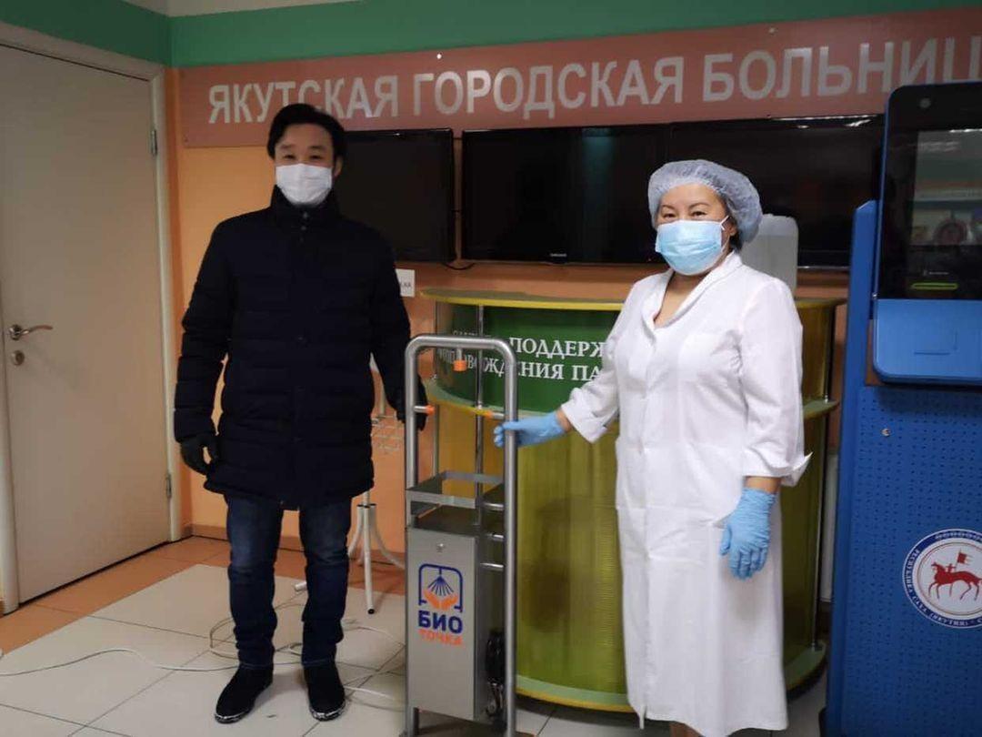 Якутской городской больнице №3 передали  автоматизированные дезинфекторы