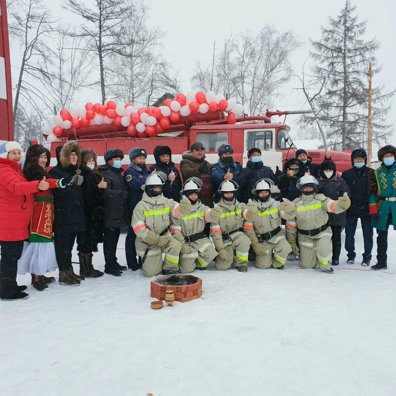 В Верхневилюйском районе открыли первую в Якутии муниципальную пожарно-спасательную службу