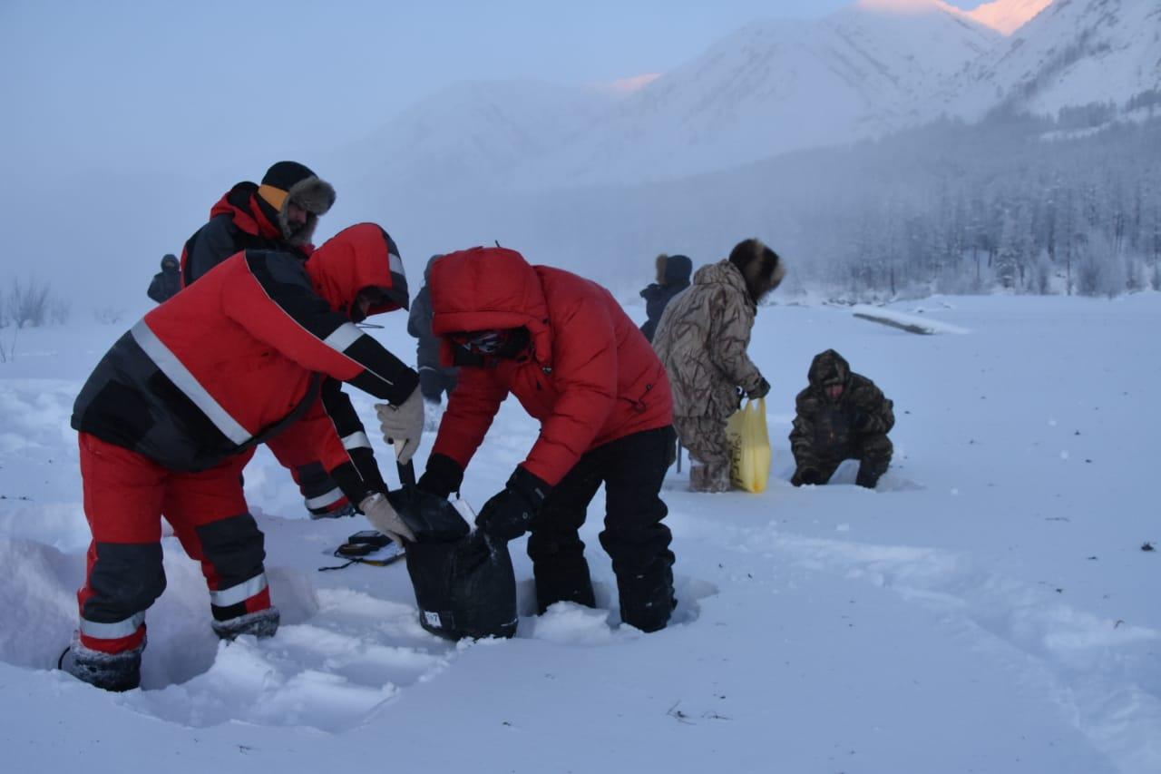 В Якутии ведутся  предпусковые обследования районов падения фрагментов ракеты-носителя