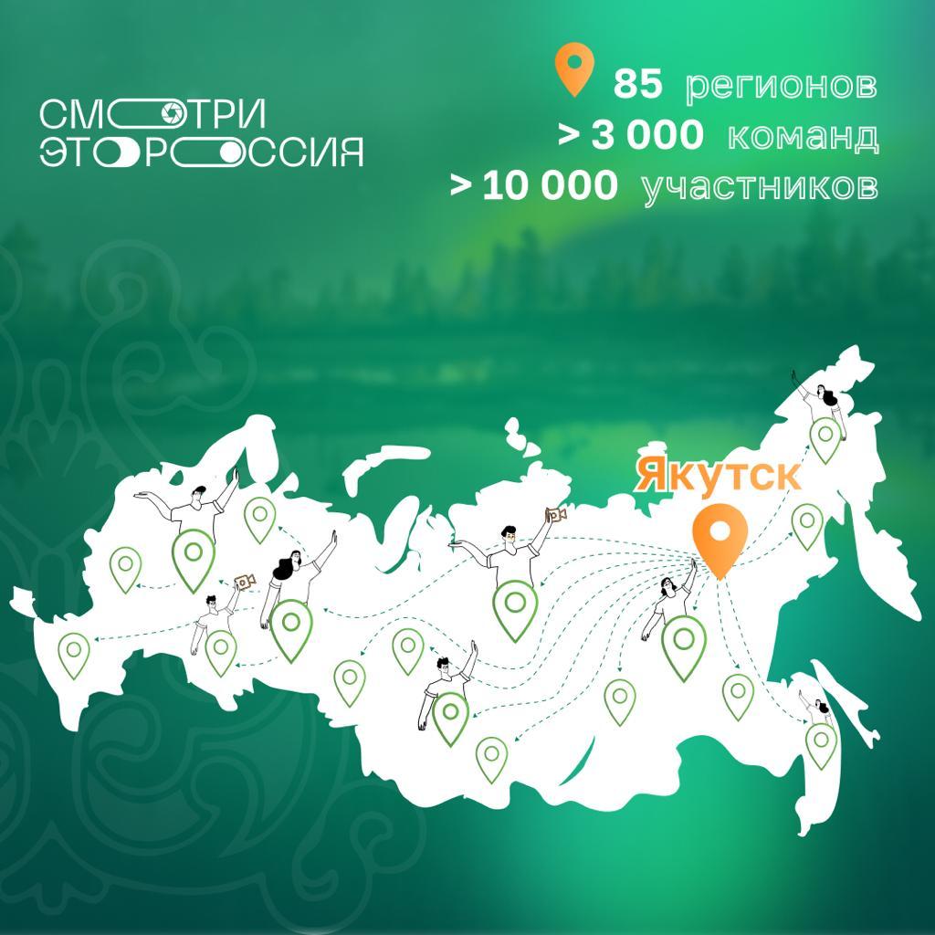 Началось голосование за лучшие работы якутского конкурса видеооткрыток «Смотри, это Россия»