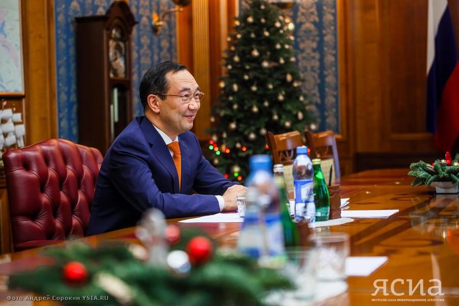 Айсен Николаев: Хорошая учеба - это лучшие инвестиции в будущее