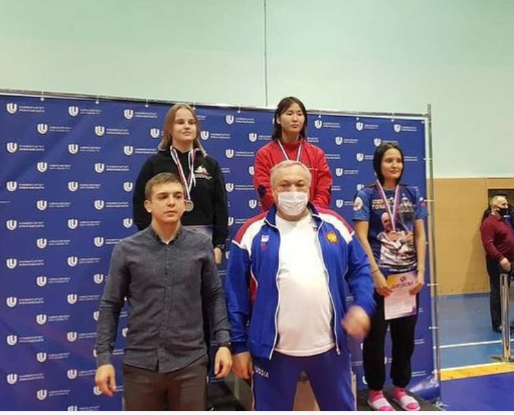 Ирина Афанасьева стала чемпионкой России среди студентов