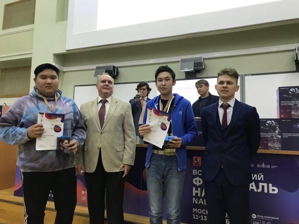 В Якутске воспитанник технопарка «Кванториум» стал обладателем гранта на 500 тысяч рублей