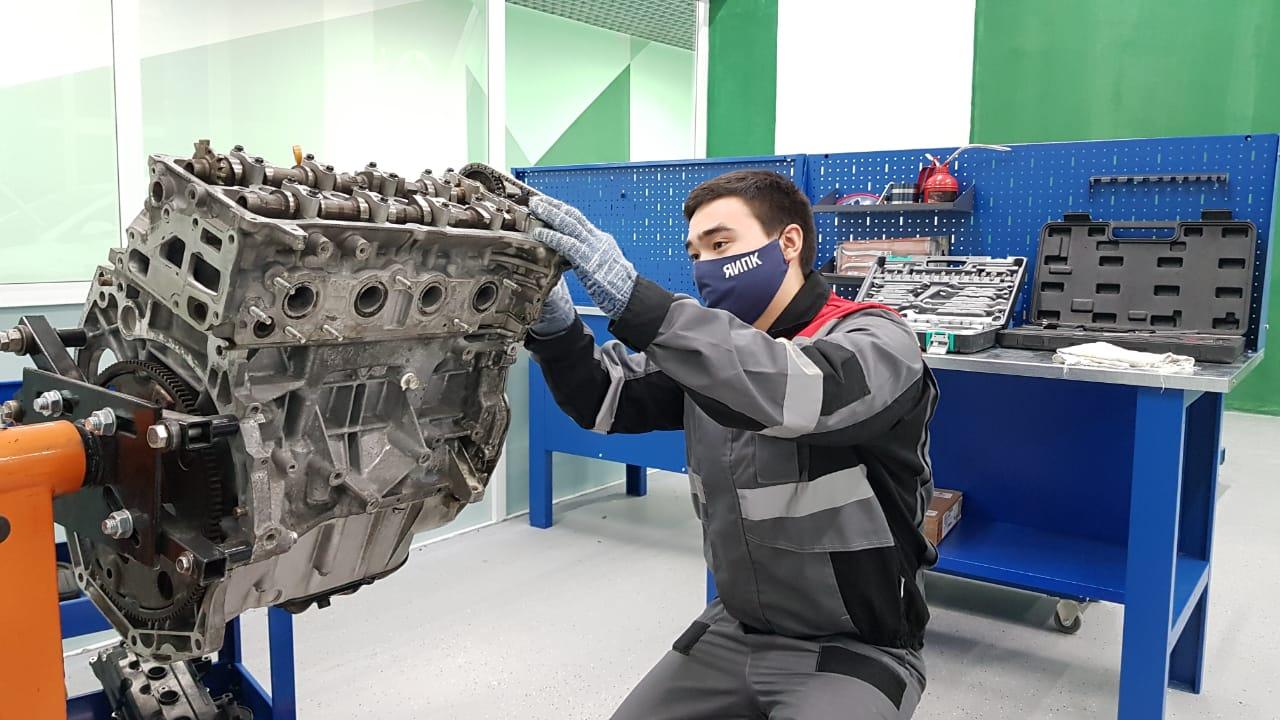 """В Якутске открыли пять мастерских по направлению """"Обслуживание транспорта и логистика"""""""