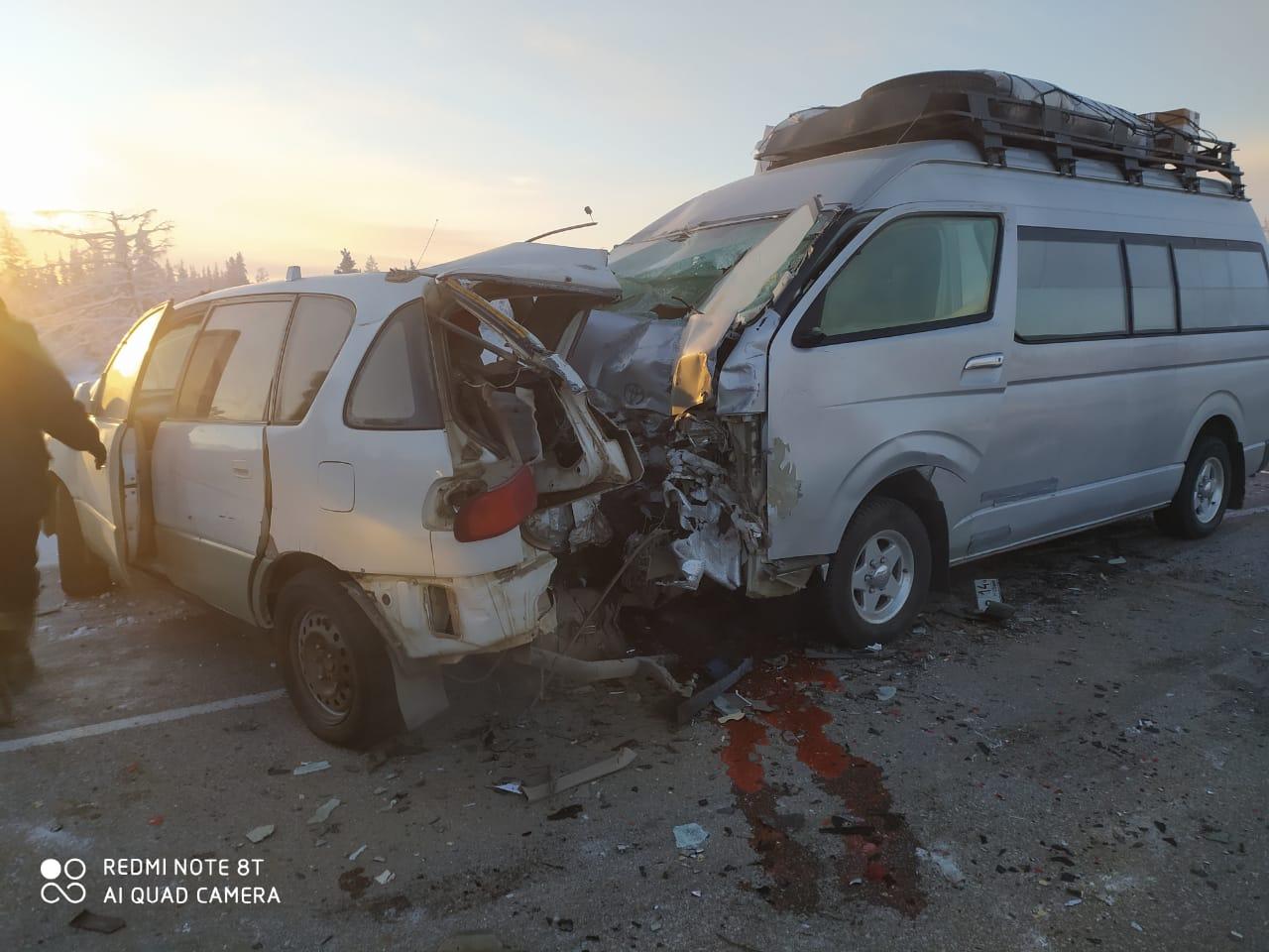 """Прокуратура Якутии проводит проверку по факту аварии на ФАД """"Колыма"""", в которой пострадали шесть человек"""