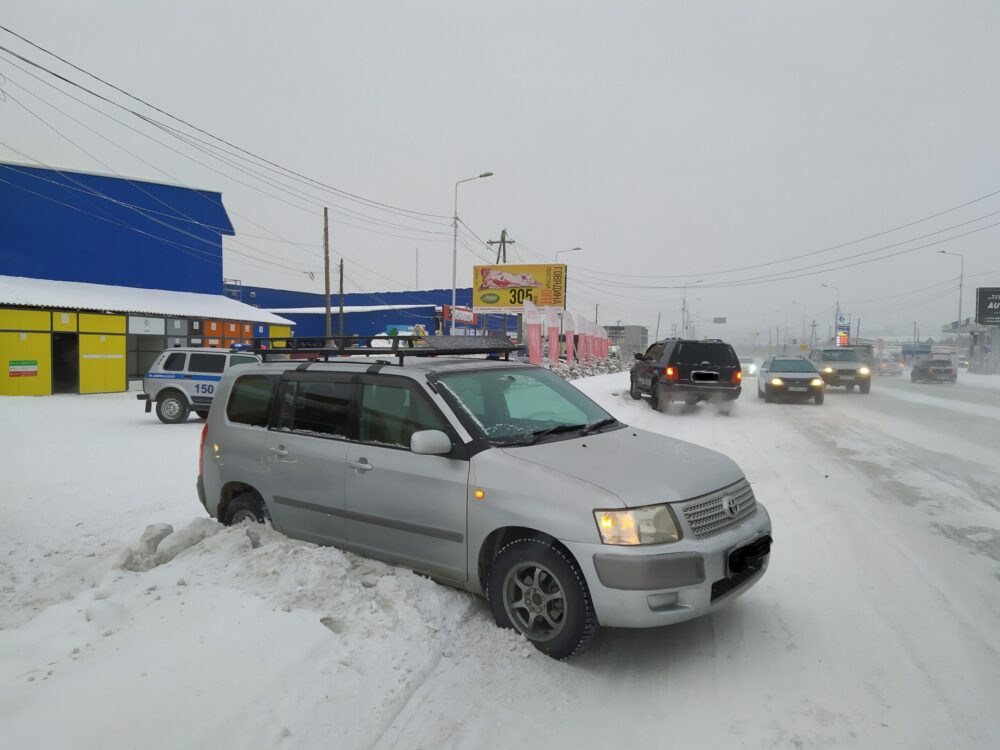 В Якутске беременная женщина пострадала при столкновении двух автомобилей