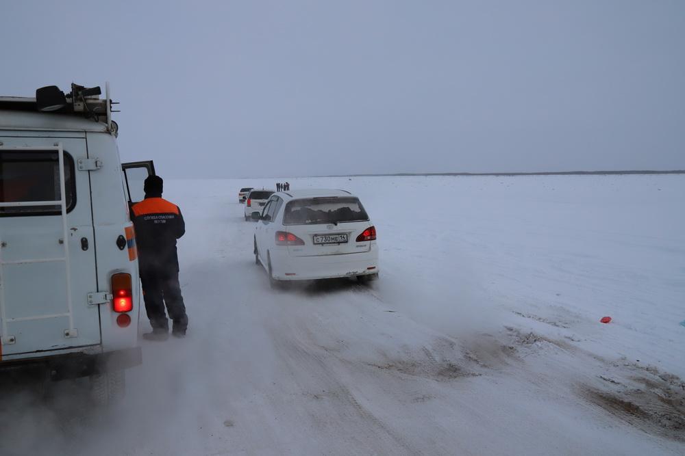 """Акция """"Безопасный лед"""". Якутян призывают пользоваться только санкционированными переправами"""