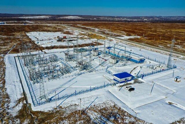 «Россети ФСК ЕЭС» обеспечила мощностью площадку гелиевого хаба «Газпрома» в Приморье