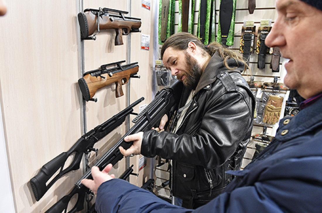 В России предложили создать единый реестр оружия