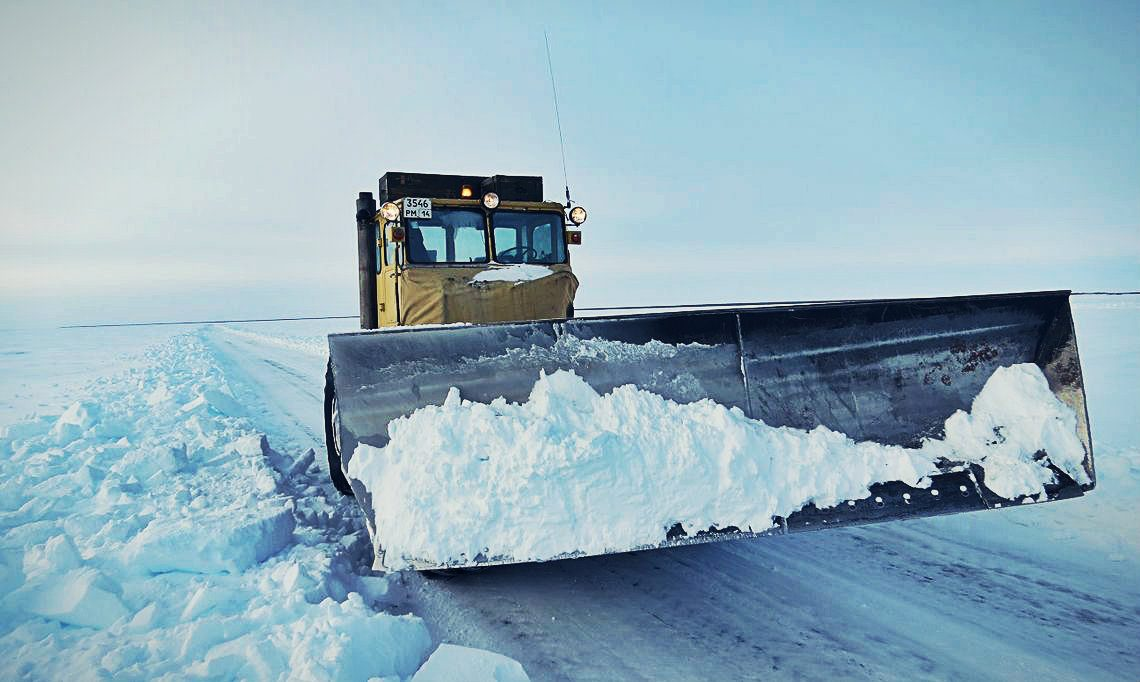В Хангаласском улусе разрешено движение автотранспорта по зимникам