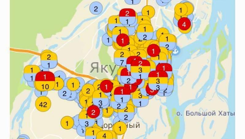 Электронную карту выданных ордеров на земляные работы разработали в Якутске