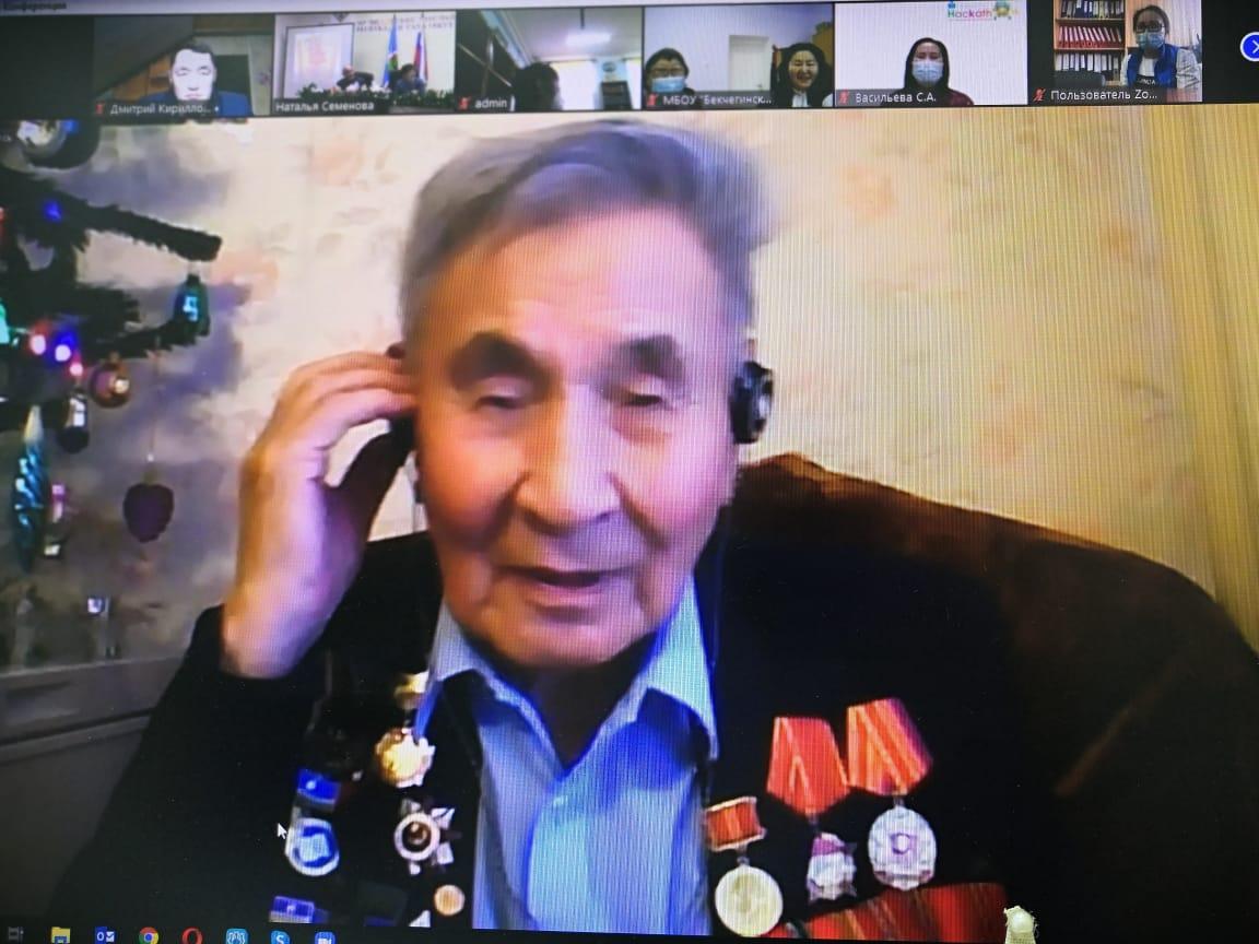 Ветерана Великой Отечественной войны Николая Афанасьева поздравили с 95-летием