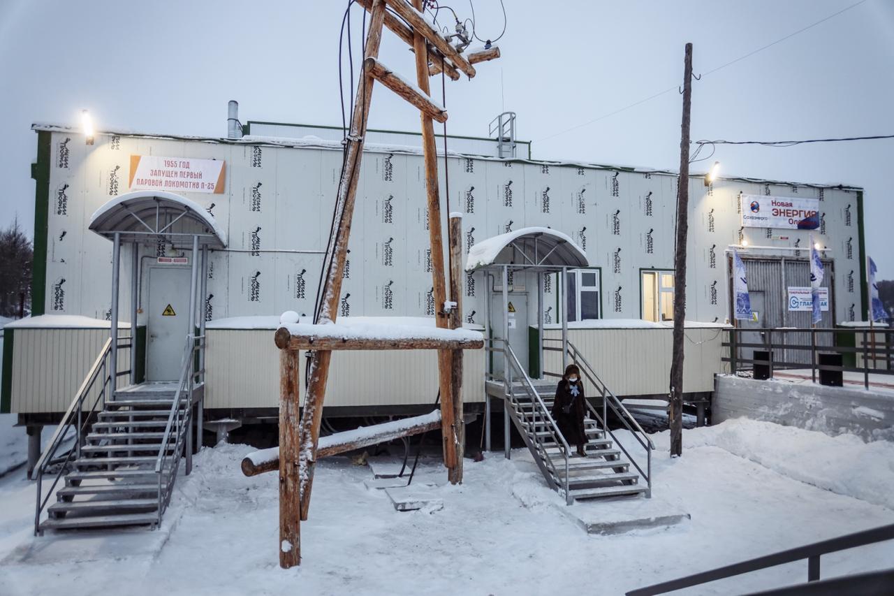 В селе Оленёк ввели в работу новую дизельную электростанцию