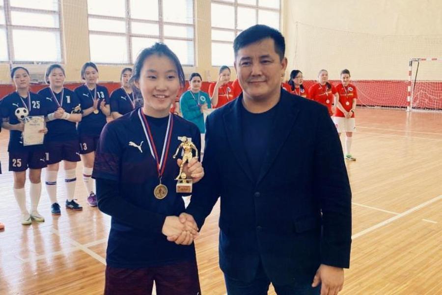 Якутская футболистка одержала победу в открытом спортивном первенстве Елецкого госуниверситета