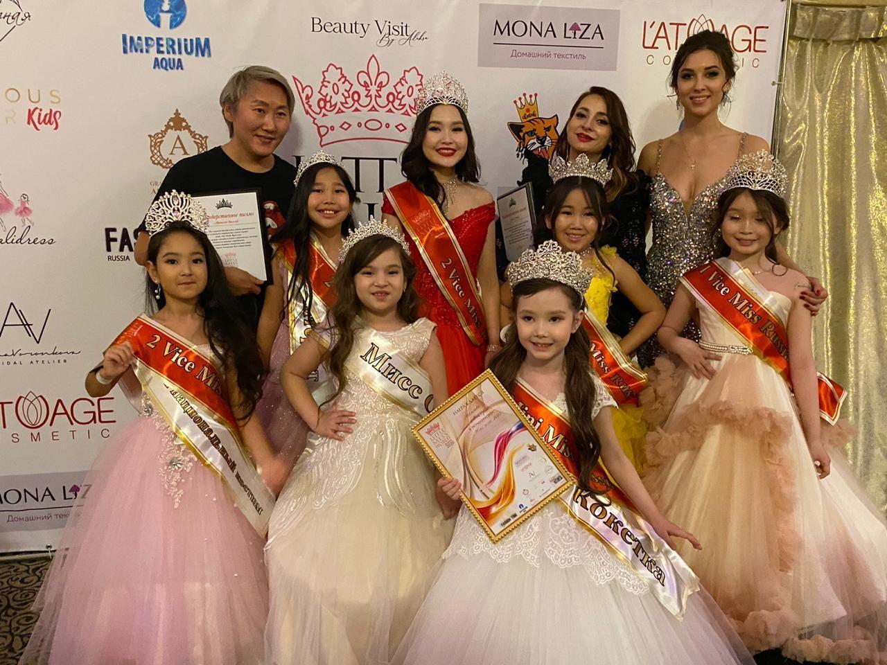 Юные якутянки стали победительницами Всероссийского конкурса красоты и таланта Little Miss World Russia