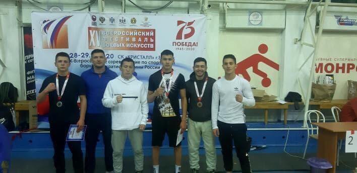 Сборная Якутии участвовала в турнире по панкратиону