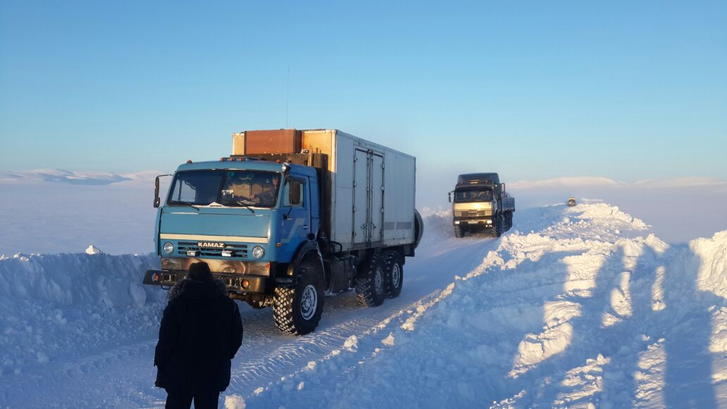 Грузоподъемность автомобильной дороги «Арктика» увеличили до 30 тонн