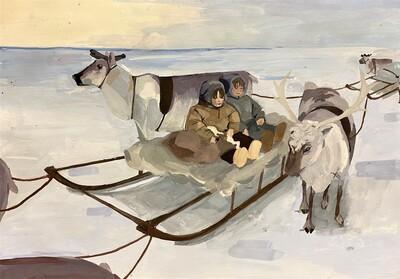 """Специальный приз конкурса детских рисунков """"Открой Арктику!"""" получила участница из Якутии"""