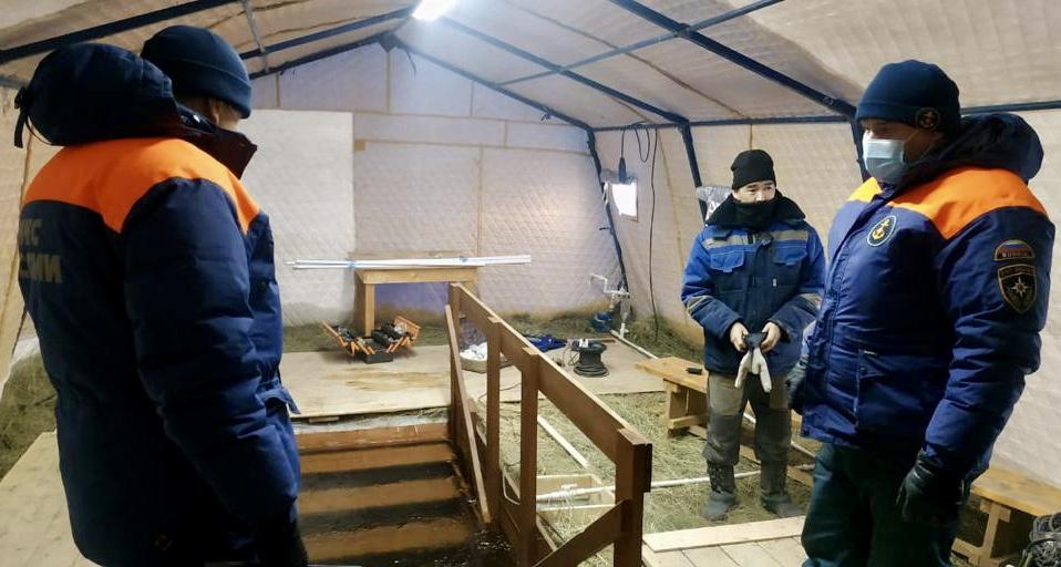 Более 450 сотрудников МЧС России будут обеспечивать безопасность крещенских праздников