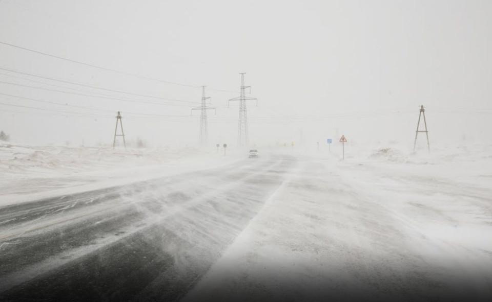 В прибрежных арктических районах Якутии ожидаются метели