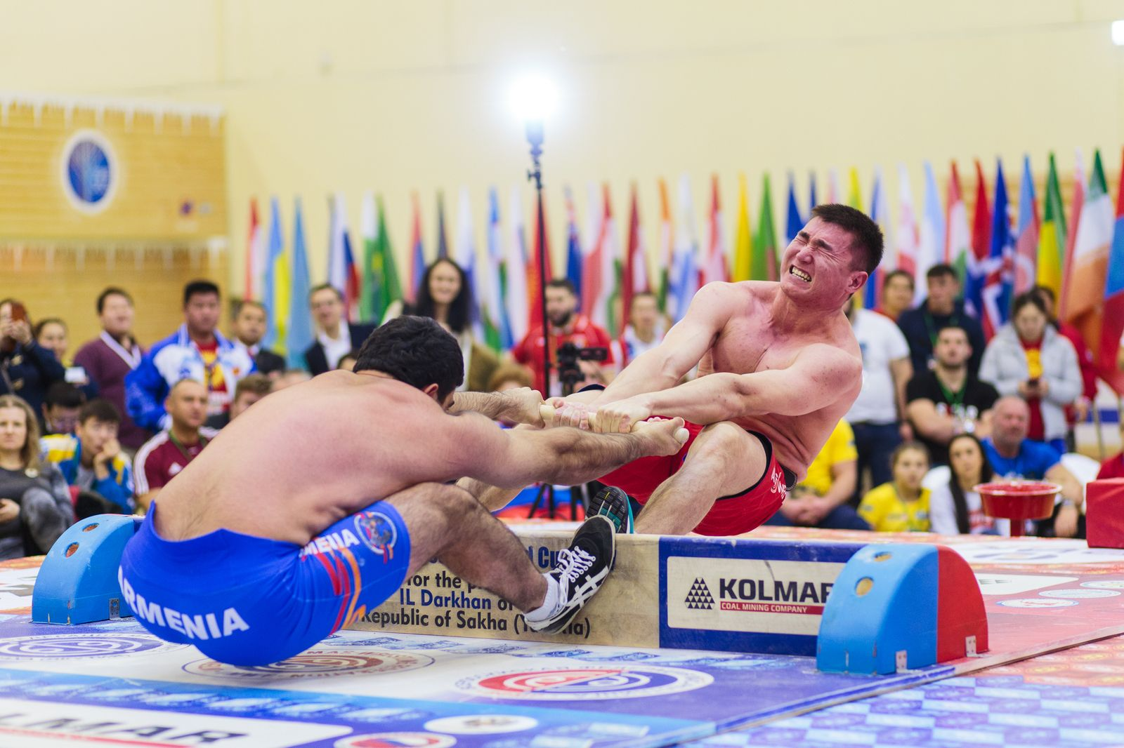 Мас-рестлинг будет представлен на Всемирных играх ТАФИСА в Португалии