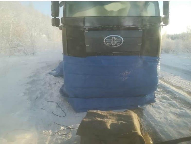 В заречных улусах Якутии заработала служба помощи на автодорогах