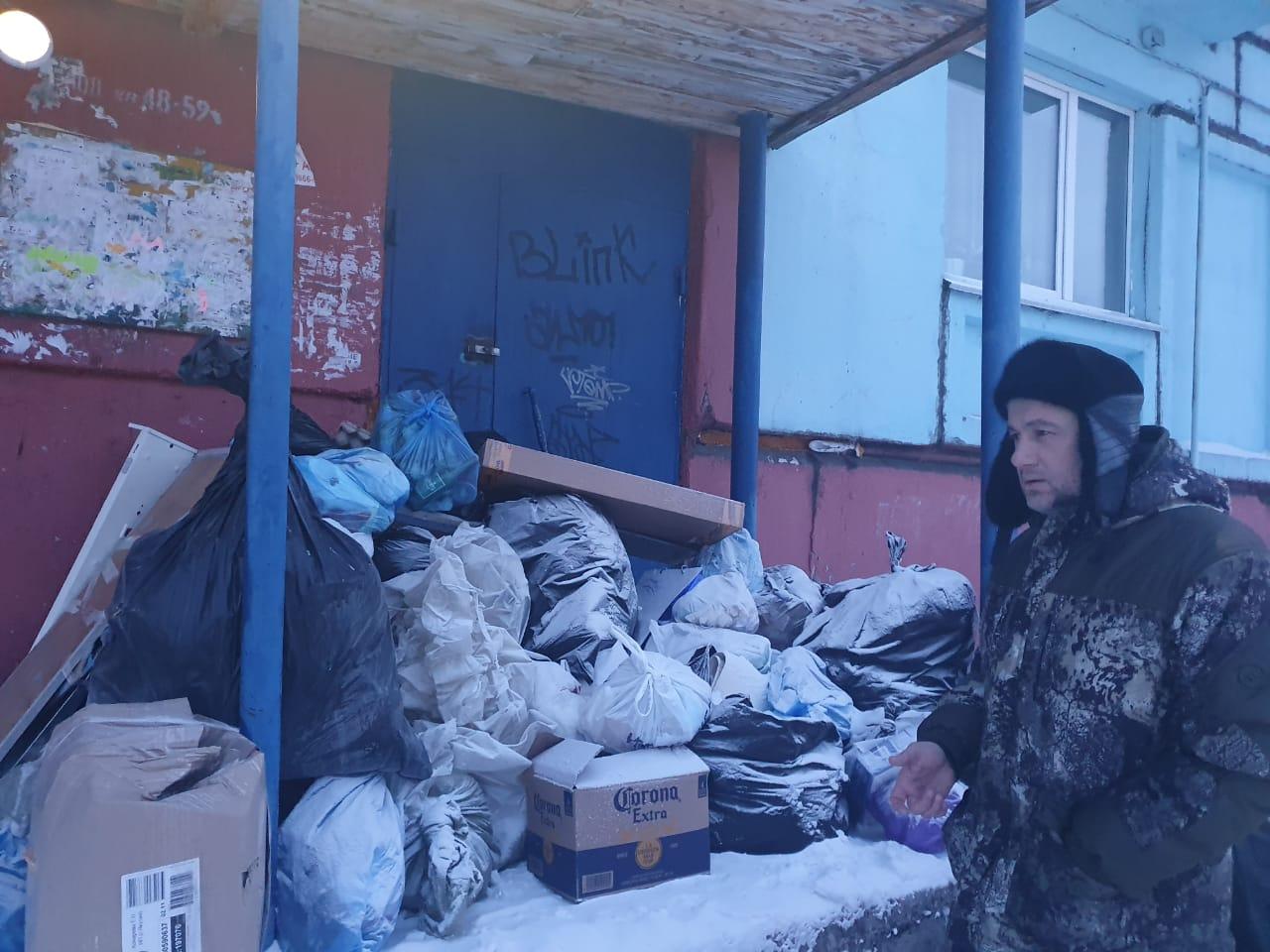 В Нерюнгри решают вопрос с вывозом мусора