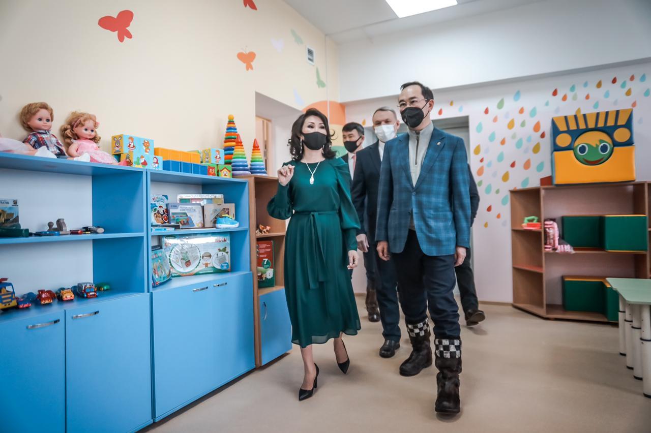 В Усть-Майском районе Якутии открылся новый детский сад на 90 мест