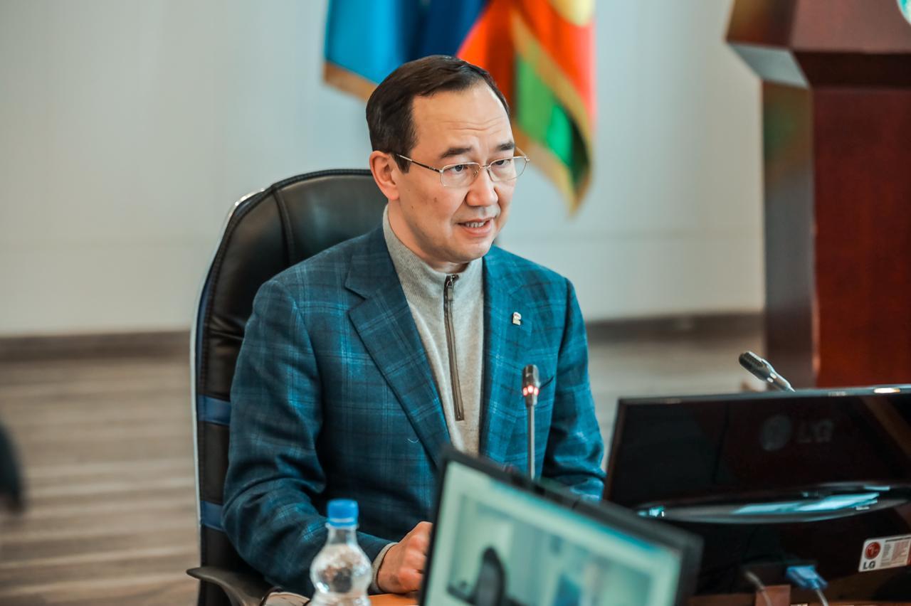 Глава Якутии 14 июня работает в Нюрбинском и Верхневилюйском районах