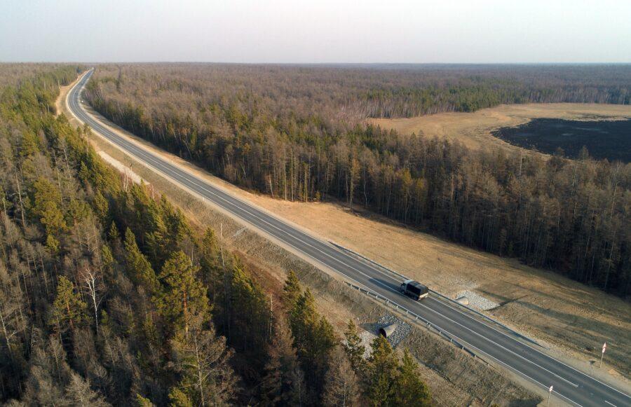 В Якутии в 2020 году ввели в эксплуатацию 136 км федеральных автодорог «Вилюй» и «Колыма»