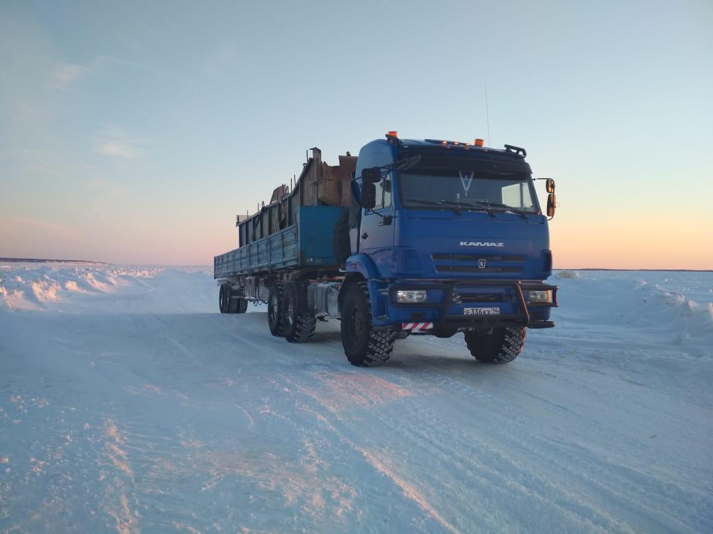 В Якутии зимний план перевозки жизнеобеспечивающих грузов выполнен на 26,7%