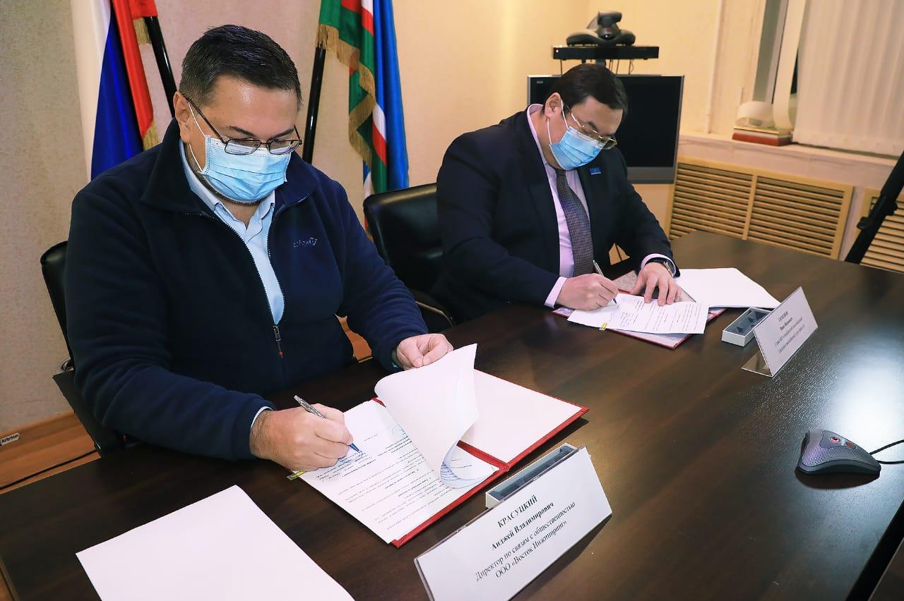 Подписано новое соглашение между Анабарским районом и промышленниками