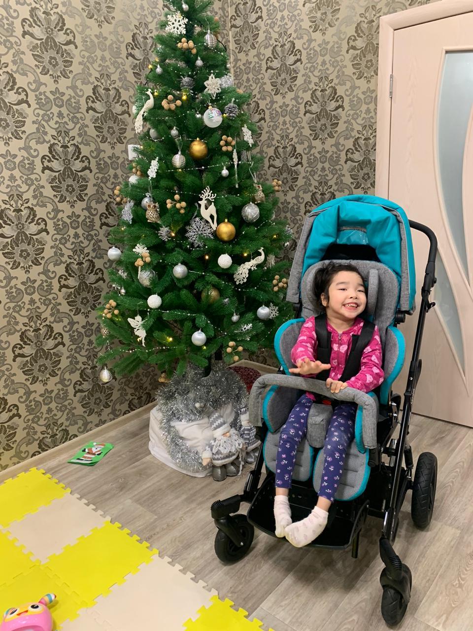 АЭБ исполнил заветную мечту пятилетней Алисы Гаврильевой