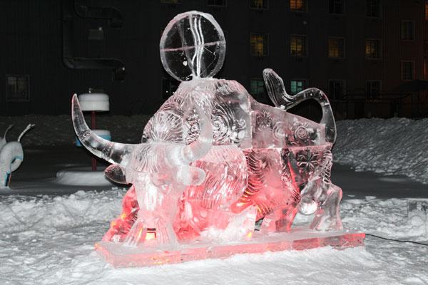 В УФСИН подвели итоги конкурса ледяных и снежных фигур