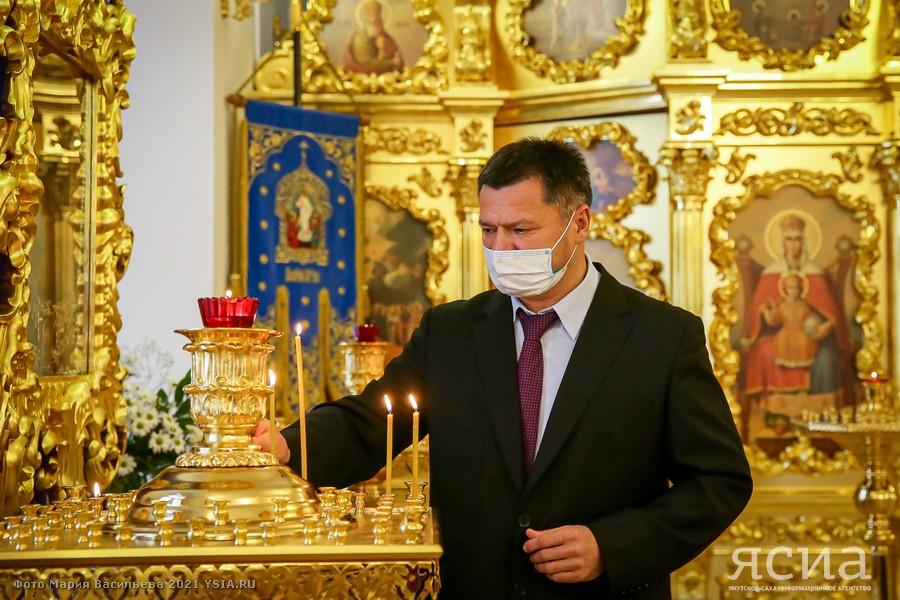 Андрей Тарасенко побывал в Градо-Якутской Богородицкой церкви