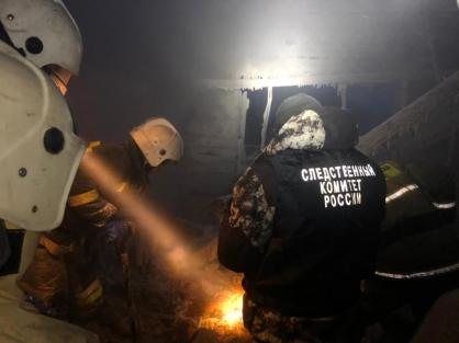Тело пропавшей женщины обнаружили на месте пожара жилого дома в Олекминске