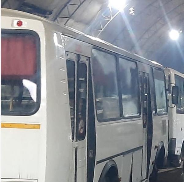 В Олекминске продолжается восстановление автобусов после пожара в гараже