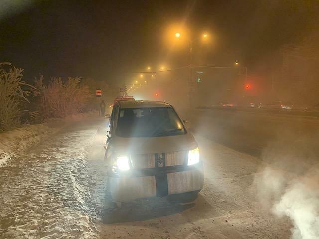 В Якутске зарегистрирован наезд на пешехода на переходе