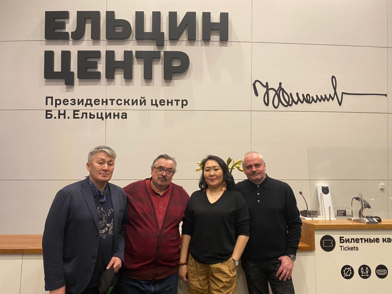 Сардана Саввина рассказала, как развивался якутский кинематограф зрителям Екатеринбурга